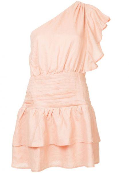 Платье мини короткое - розовое Suboo