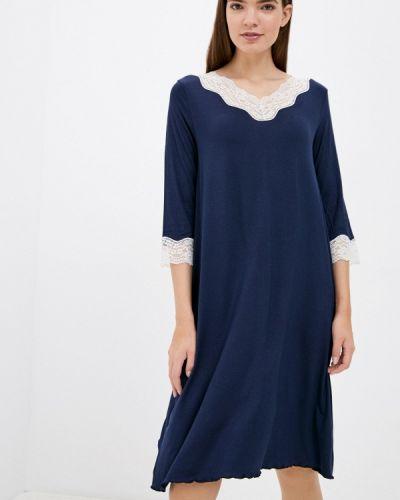 Синее итальянское платье United Colors Of Benetton