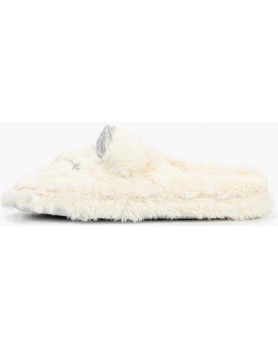 Белые домашние тапочки Dorothy Perkins
