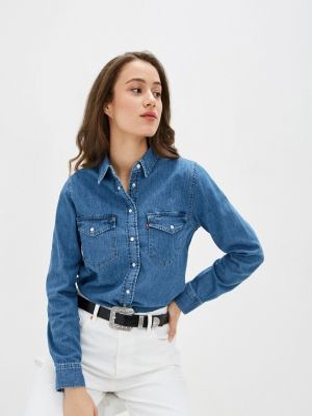 Джинсовая рубашка синяя Levi's®