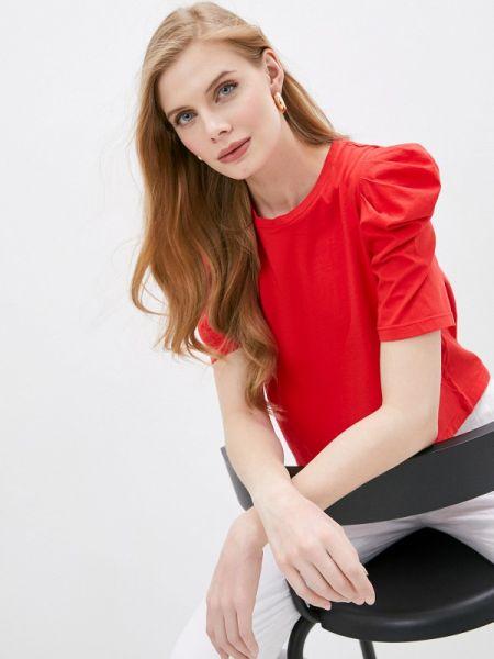 Красная футбольная футболка Nude