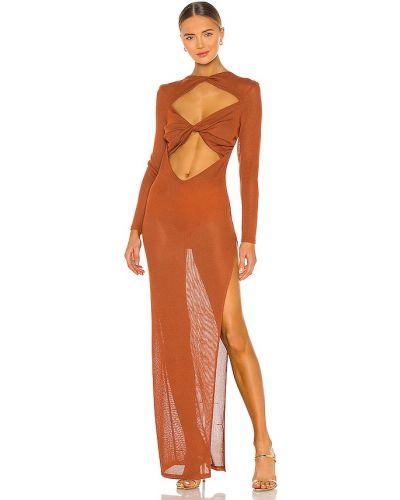 Klasyczna sukienka długa na plażę z akrylu Bronx And Banco
