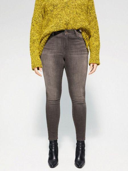 Фиолетовые джинсы Violeta By Mango