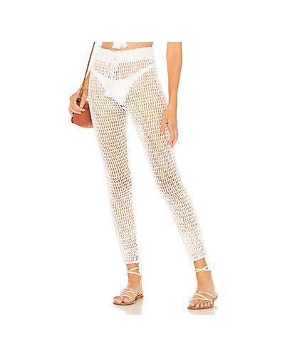 Белые брюки Majorelle
