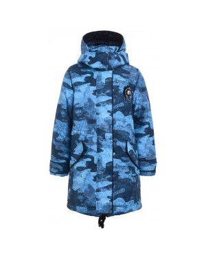Пальто с капюшоном на синтепоне демисезонное Gulliver Wear