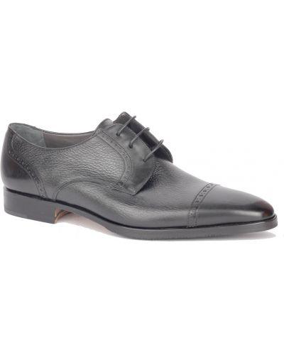 Туфли черные Moreschi