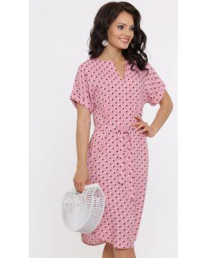 Платье с поясом платье-сарафан с рукавами Dstrend