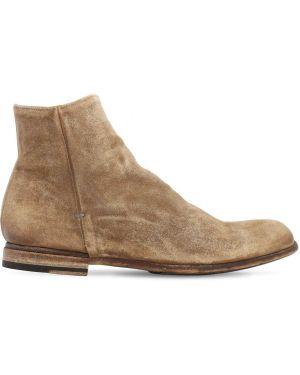 Ankle boots zamszowe Pantanetti