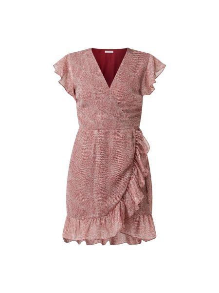 Sukienka rozkloszowana z falbanami w paski Freebird