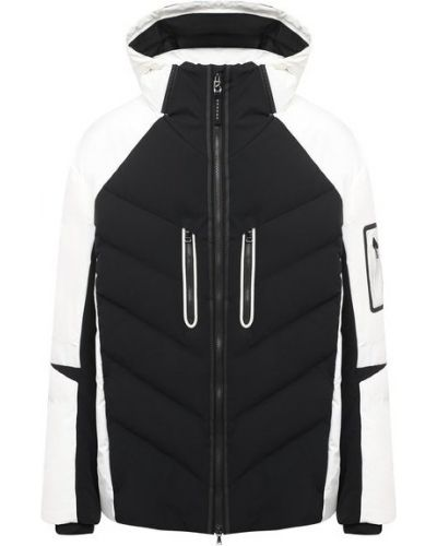 Пуховая белая куртка с гусиным пухом Bogner