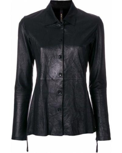 Прямая черная куртка на пуговицах Olsthoorn Vanderwilt