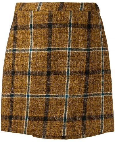 Юбка мини с завышенной талией юбка-шорты Roberto Collina
