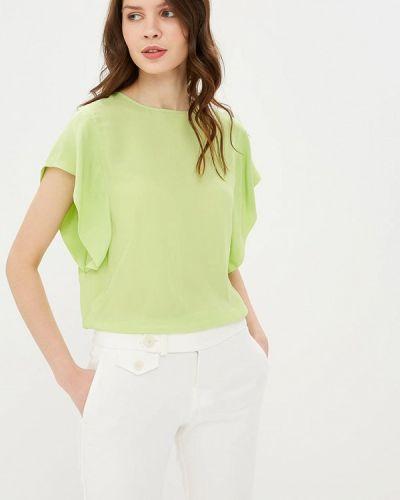 Блузка с коротким рукавом зеленый весенний Madeleine