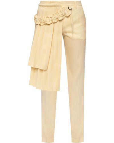 Spodnie oversize - białe Off-white