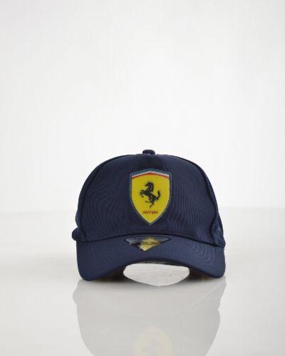Бейсболка темно-синий черная Ferrari