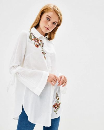 Блузка с длинным рукавом осенняя Naf Naf