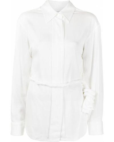 Рубашка с длинным рукавом - белая Christopher Esber