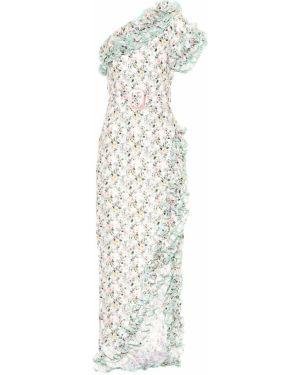 Платье винтажная с цветочным принтом Gül Hürgel