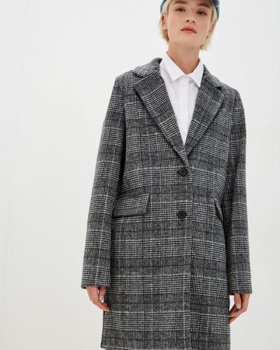Серое пальто Befree