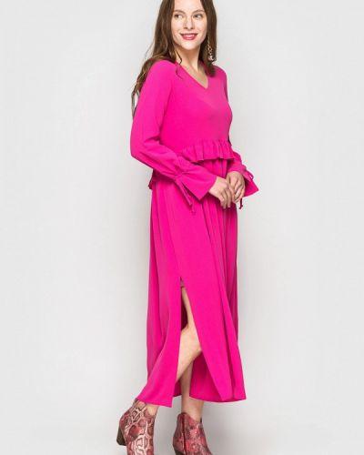 Платье весеннее розовое Evercode