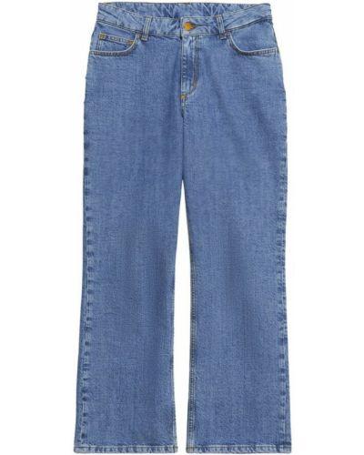 Niebieskie mom jeans Rodebjer