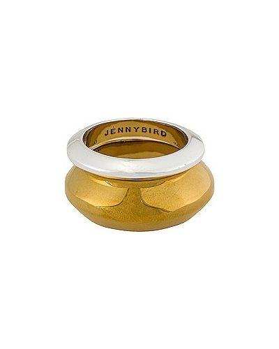 Złoty pierścionek kaskadowy Jenny Bird