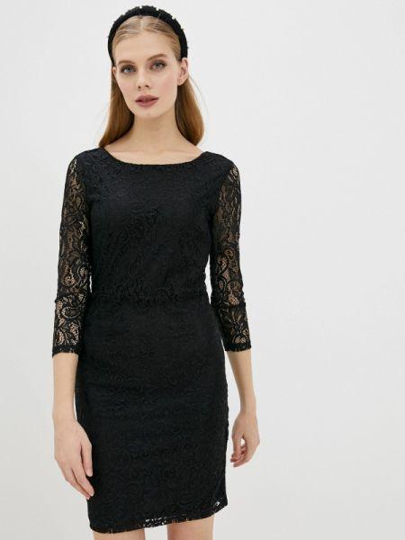 Черное джинсовое платье Tom Tailor Denim