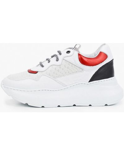 Белые кроссовки летние Roobins