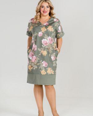 Платье мини с декольте повседневное Luxury