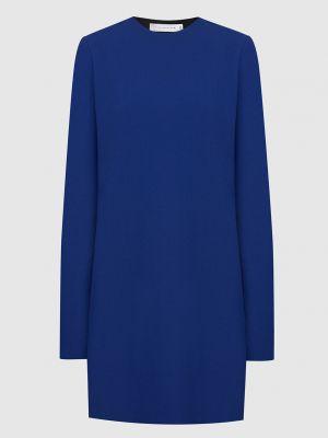 Синее платье мини Victoria Beckham