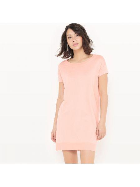 Платье мини на пуговицах с вырезом La Redoute Collections