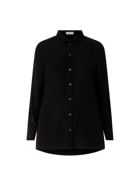 Czarna bluzka z długimi rękawami Samoon