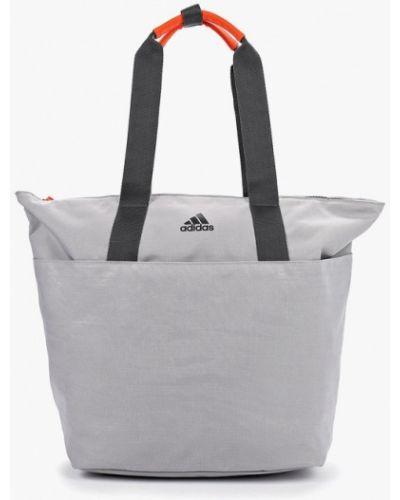 Спортивная сумка серая Adidas