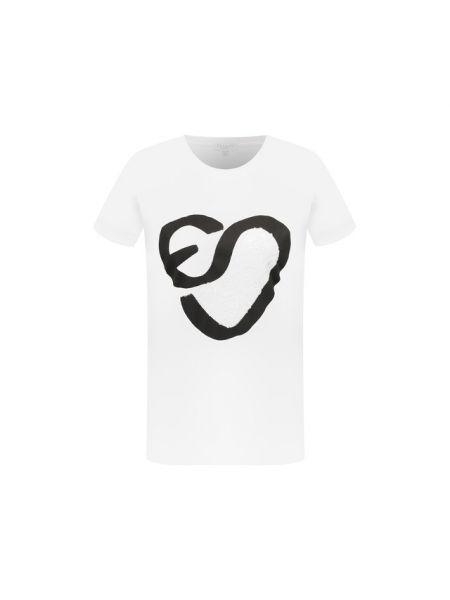 Спортивная футболка - белая Escada Sport