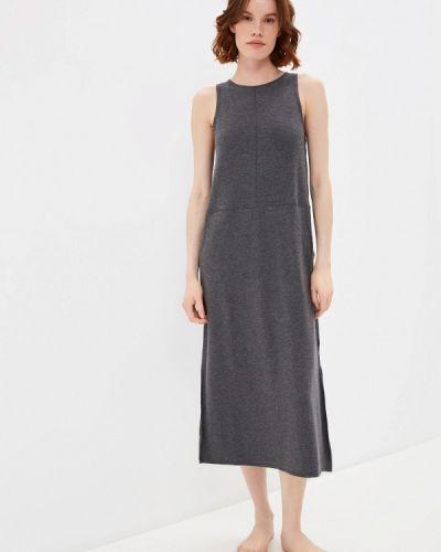 Серое платье Marks & Spencer