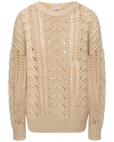 Кашемировая свитер Brunello Cucinelli