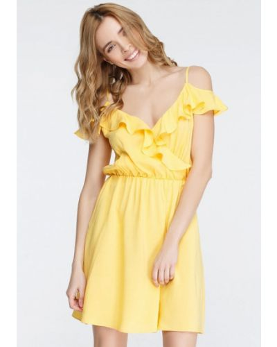 Желтое платье Musthave