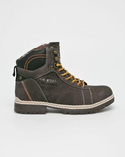Ботинки на шнуровке высокие повседневные Big Star