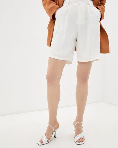 Белые повседневные шорты Moki