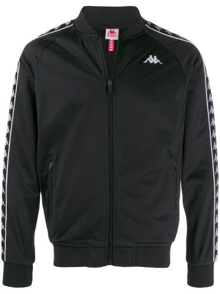 Куртка черная с манжетами Kappa