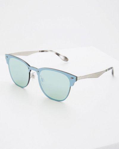 Зеленые солнцезащитные очки Ray-ban