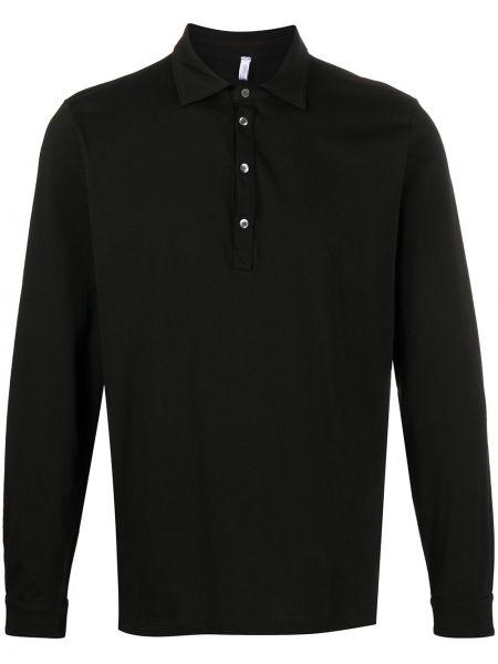 Классическая черная прямая классическая рубашка с воротником Cenere Gb
