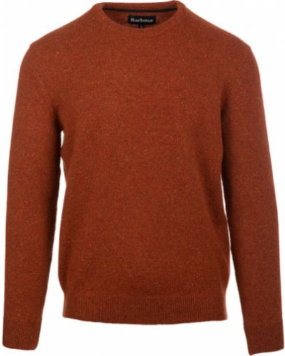 Sweter - pomarańczowy Barbour