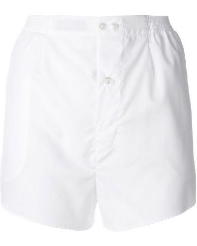 Белые хлопковые шорты с завышенной талией Faith Connexion