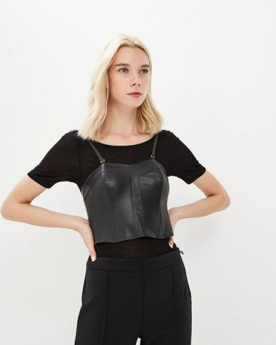 Черная футболка Patrizia Pepe
