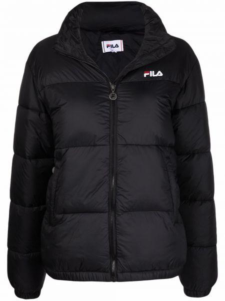 Дутая куртка - черная Fila