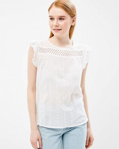 Блузка белая весенний Baon