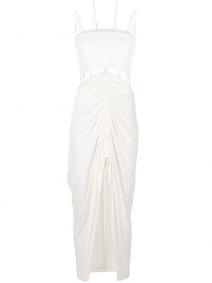 Хлопковое платье миди - белое Dion Lee