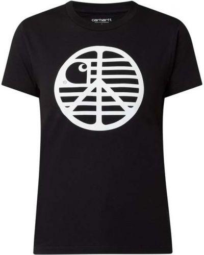 Bawełna czarny koszula okrągły Carhartt Work In Progress