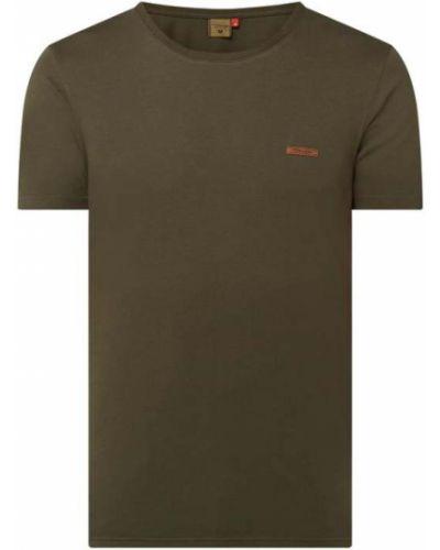 Zielony t-shirt bawełniany Ragwear